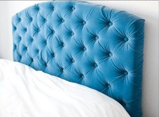 Как сделать изголовье кровати каретной стяжкой 42