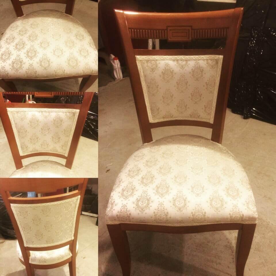 Обновить мягкие стулья своими руками